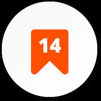 ikona 14 let