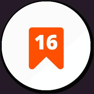 ikona 16 let