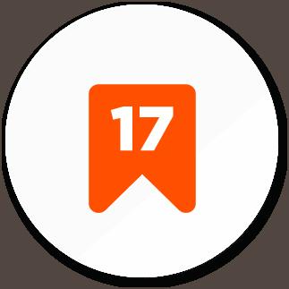 ikona 17 let
